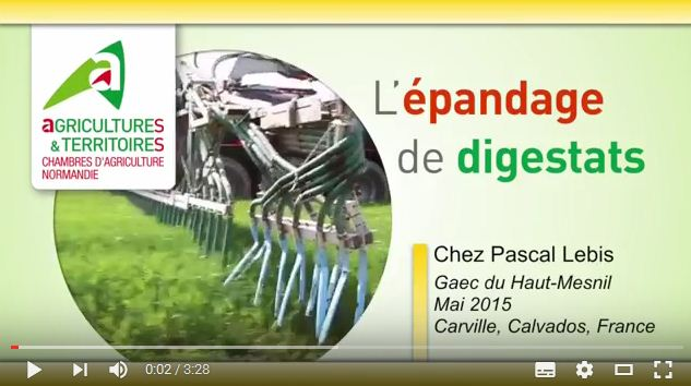 L 39 pandage de digestats chambre d 39 agriculture manche - Chambre d agriculture de la manche ...